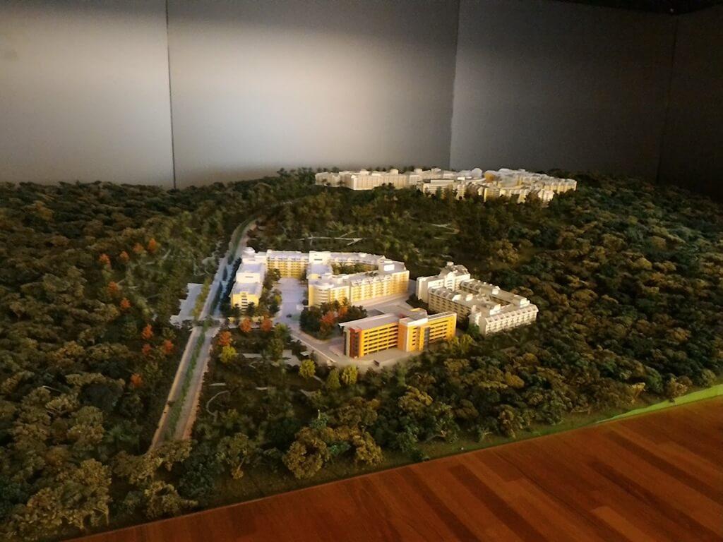 台塑企業文物館的圖片:長庚養生文化村模型