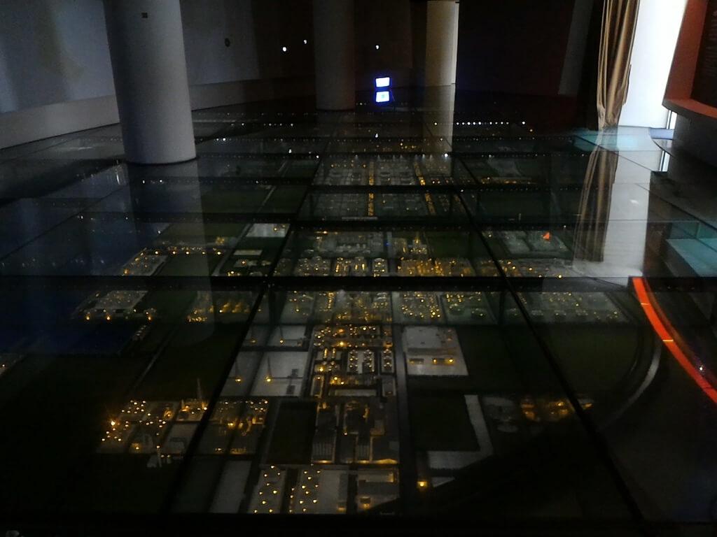 台塑企業文物館的圖片:台塑六輕模型