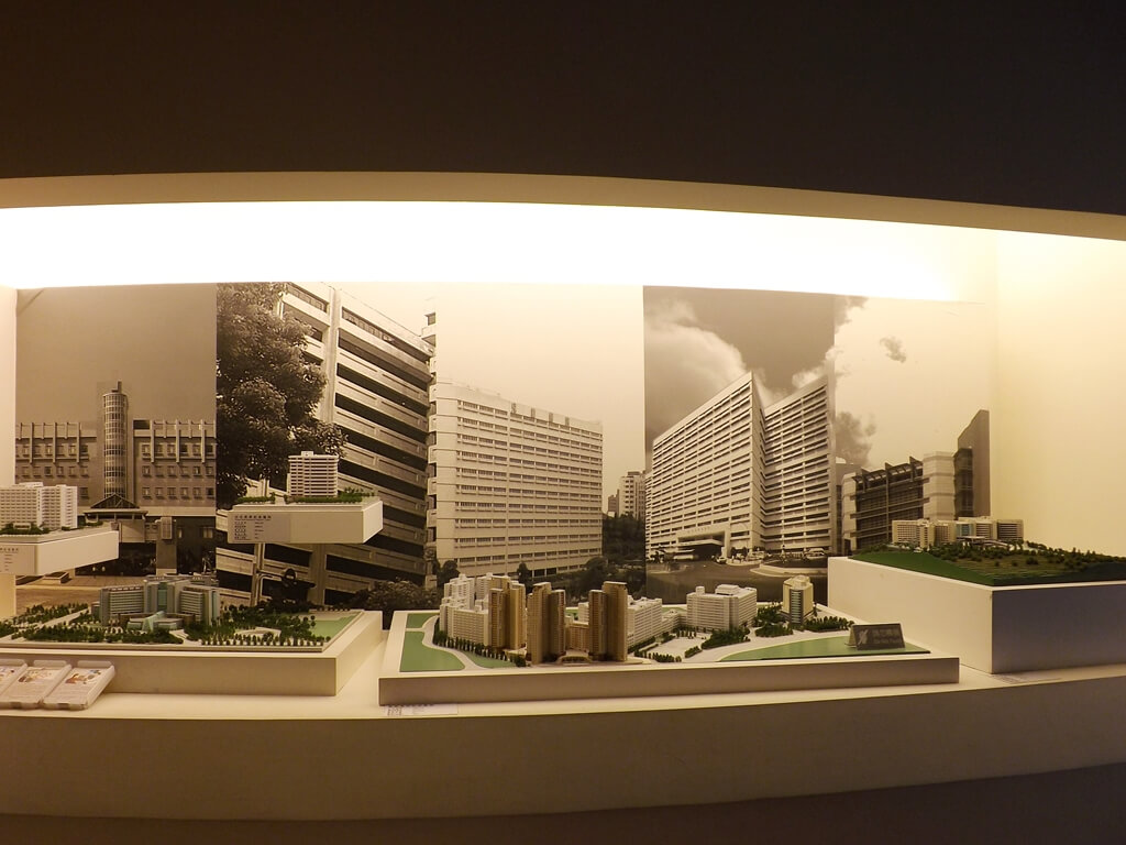 台塑企業文物館的圖片:台灣各地長庚紀念醫院模型