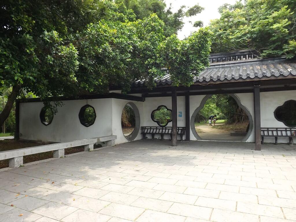 新竹青草湖的圖片:于飛島上的小廣場