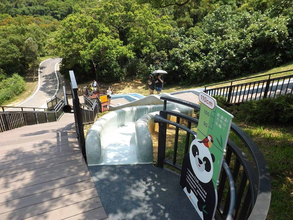 新竹青青草原的圖片:第二長的溜滑梯起點