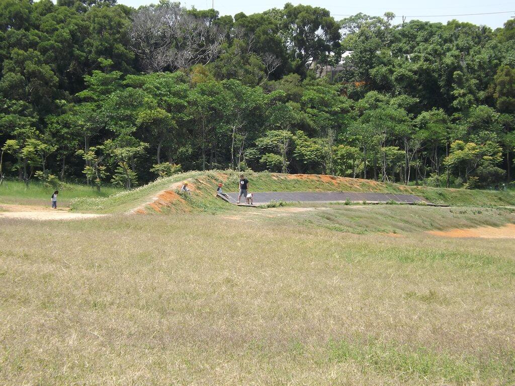 新竹青青草原的圖片:草原旁小土丘