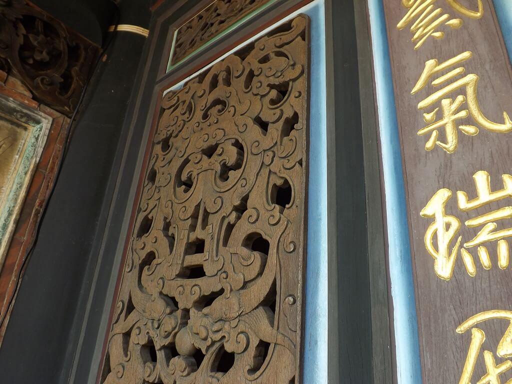 李騰芳古宅的圖片:非常有歷史的木雕