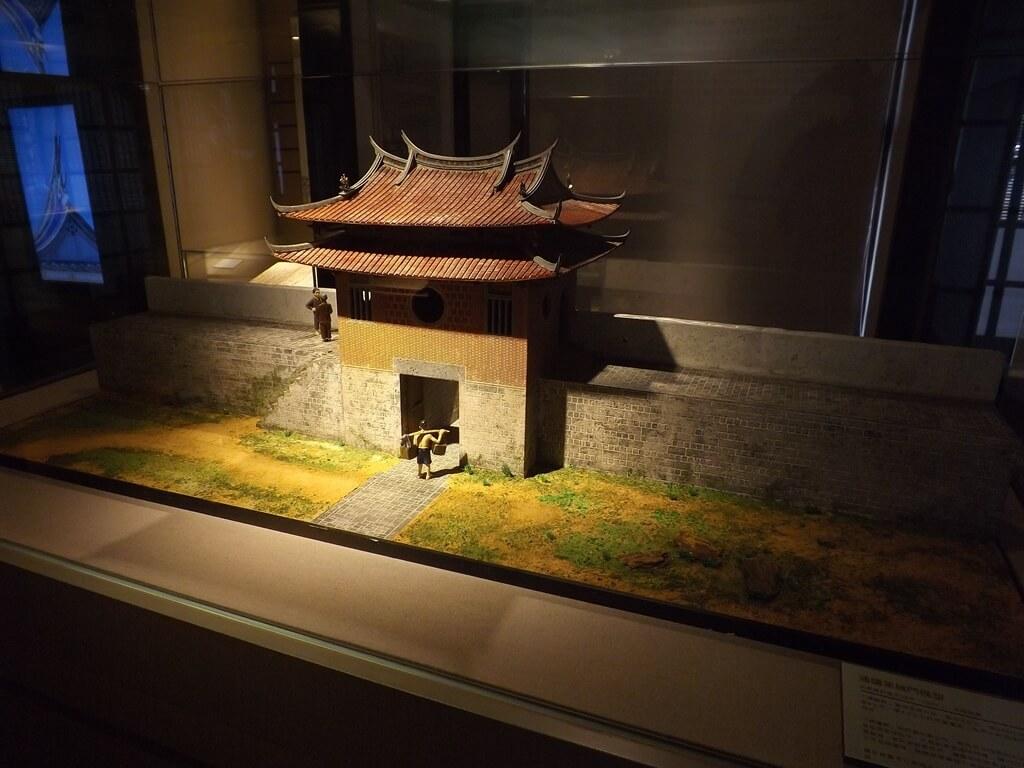 大溪木藝生態博物館的圖片:通議第城門模型