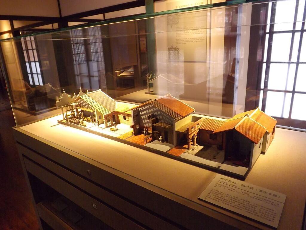 大溪木藝生態博物館的圖片:和平路 48、48-1 號模型(源古本舖)