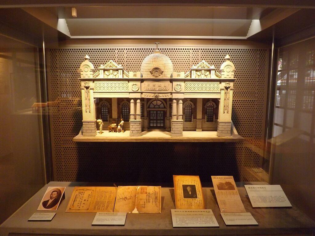 大溪木藝生態博物館的圖片:建成商行牌樓模型