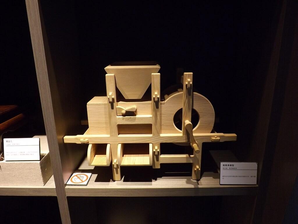 大溪木藝生態博物館的圖片:鼓風車模型展示