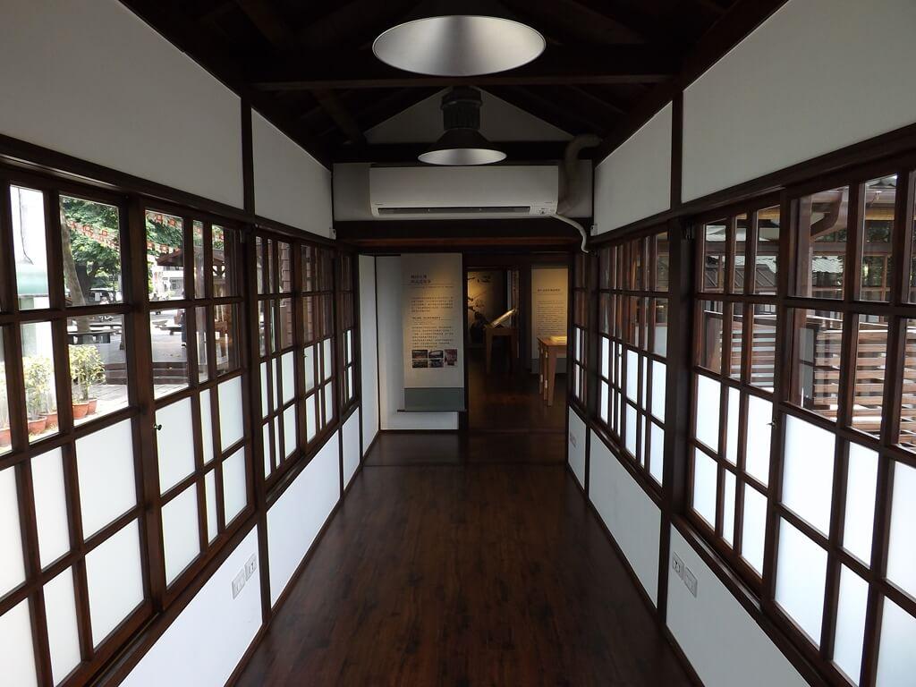 大溪武德殿的圖片:武德殿通往副屬建築的走道