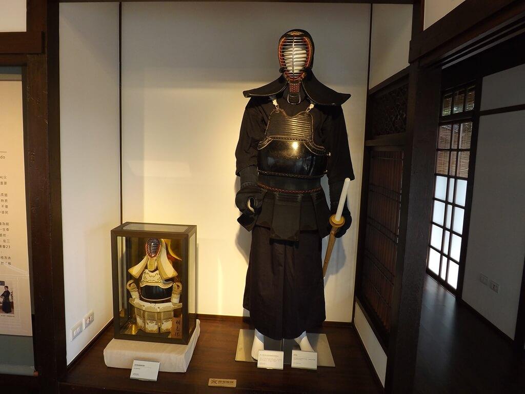 大溪武德殿的圖片:劍道的劍道服展示