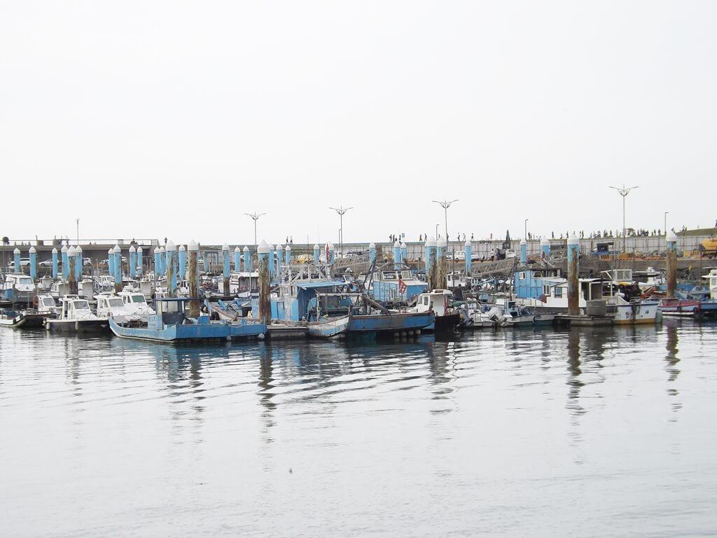 新竹南寮漁港的圖片:漁船碼頭