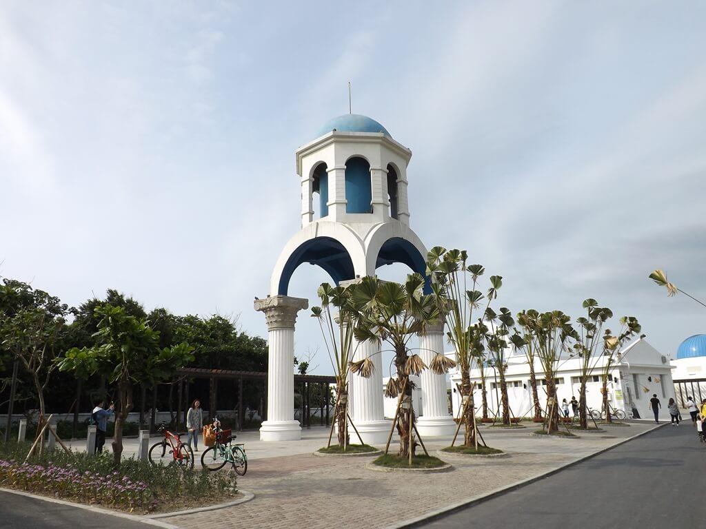 新竹南寮漁港的圖片:地中海式鐘樓