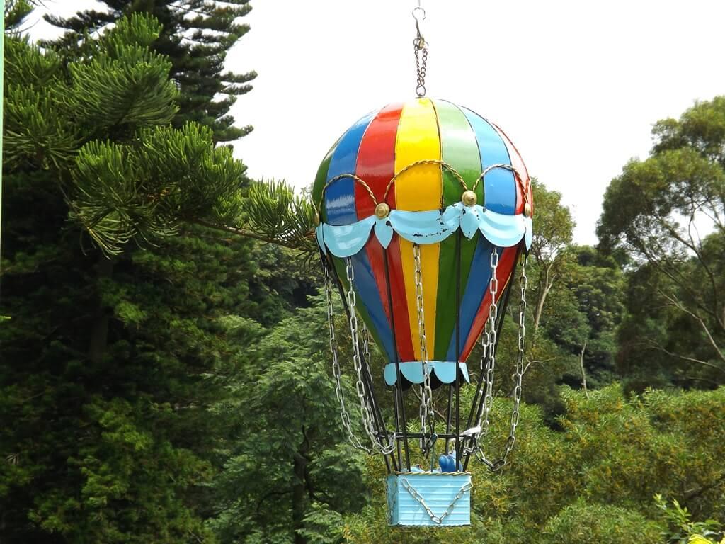 森林鳥花園的圖片:熱氣球造景