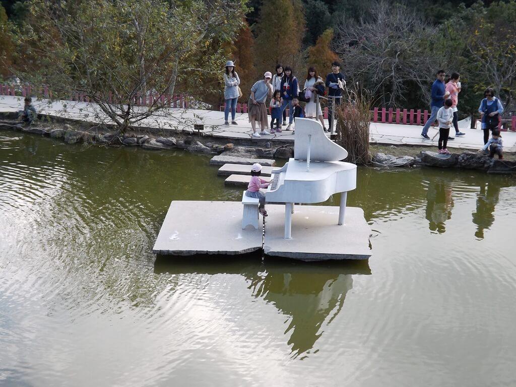 心鮮森林的圖片:白色的水上鋼琴
