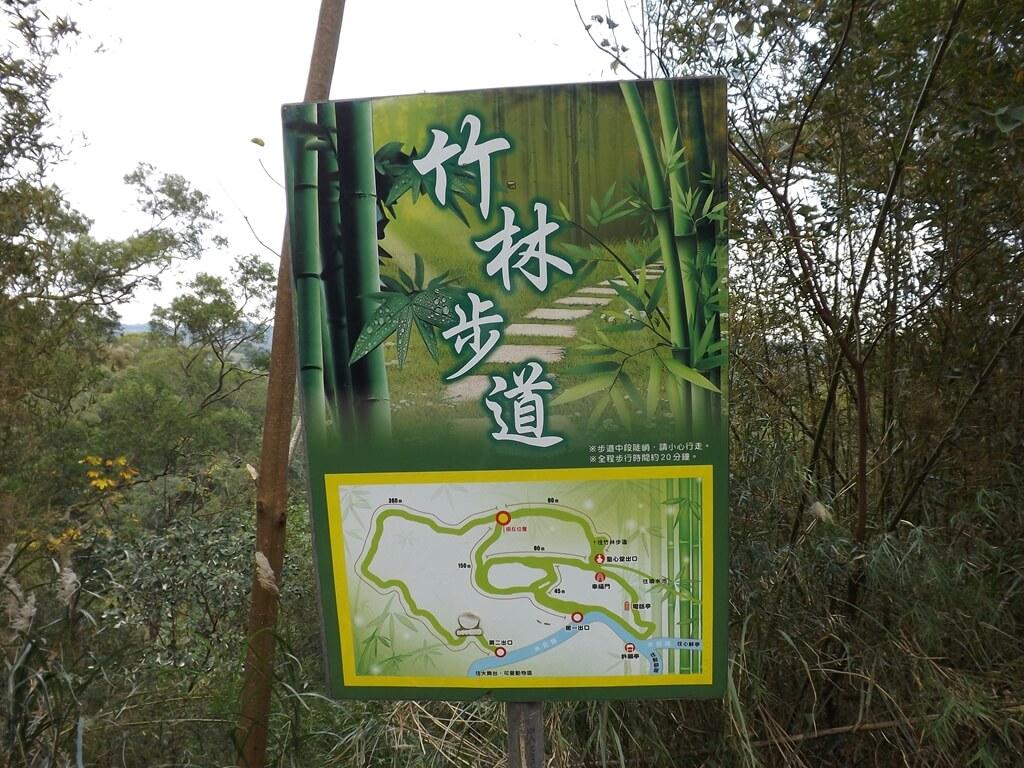 心鮮森林的圖片:竹林步道地圖