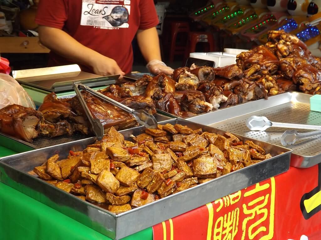 內灣老街的圖片:萬巒豬腳商家