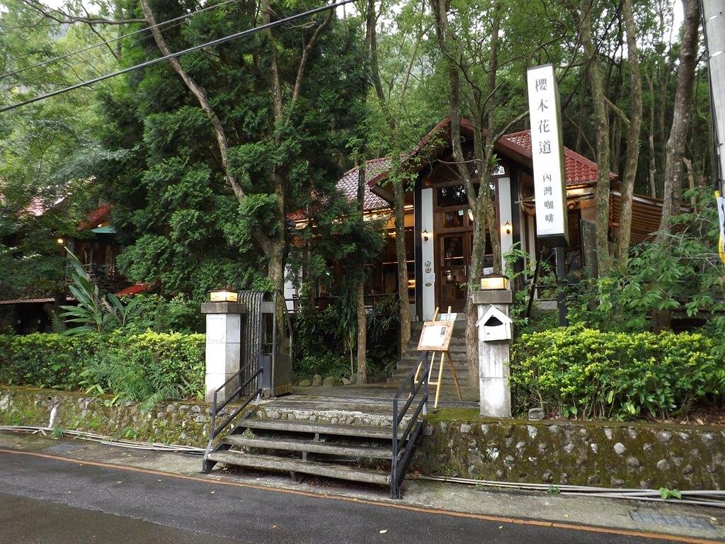 內灣吊橋的圖片:南坪區的櫻木花道內灣咖啡