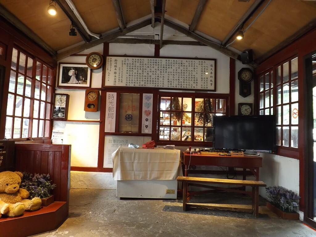 合興車站的圖片:愛情候車室內的佈置