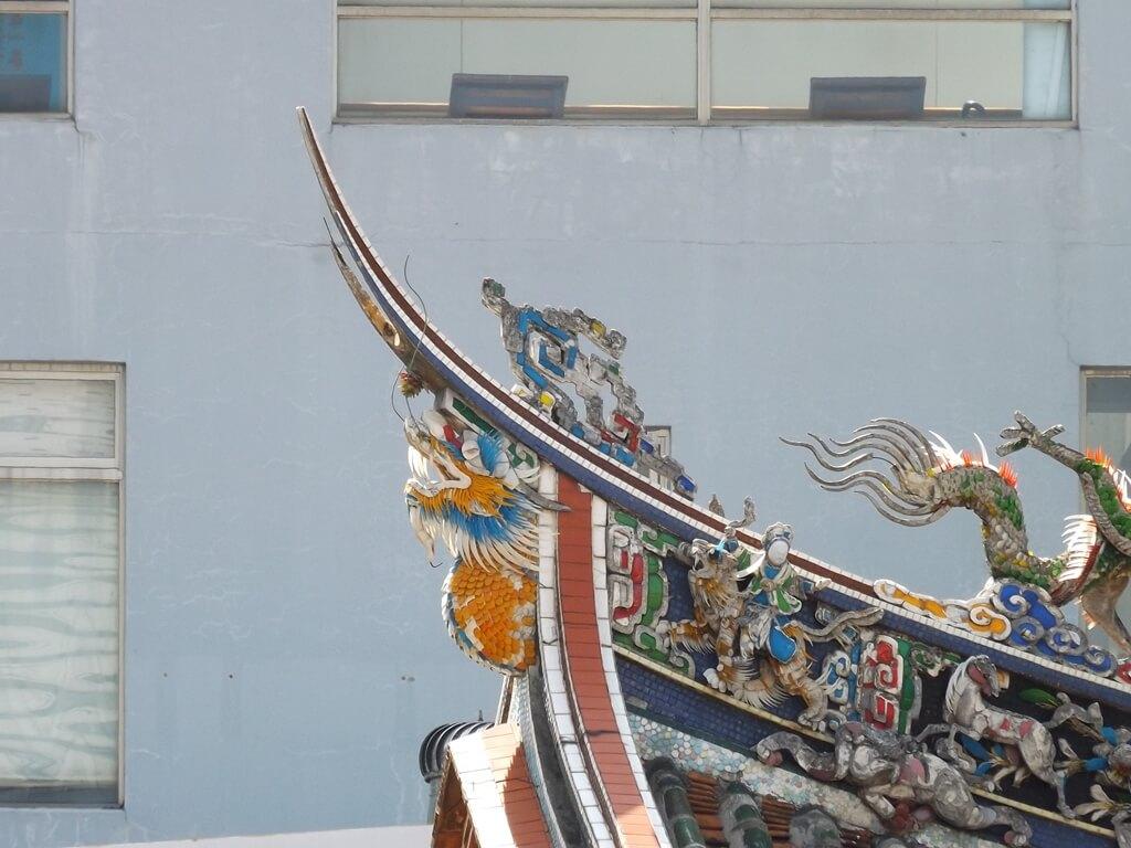 新竹都城隍廟的圖片:新竹城隍廟屋頂造型圖二