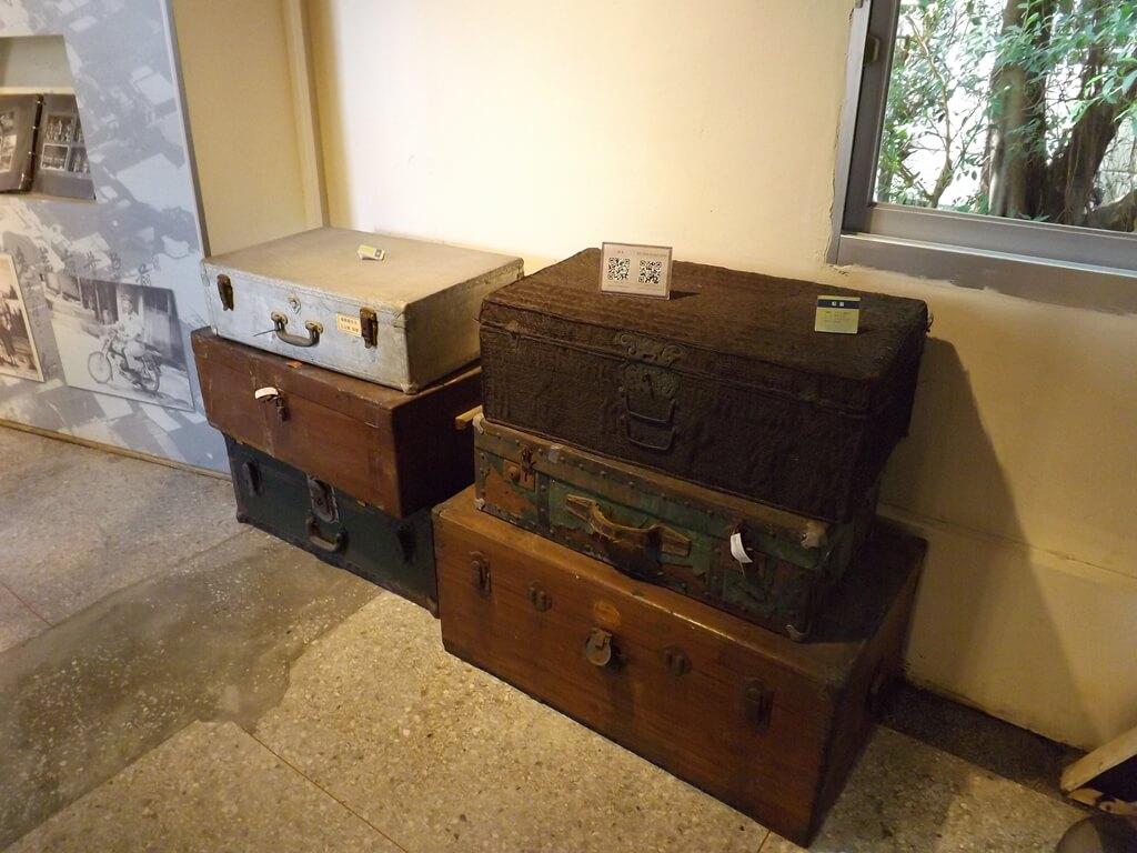 新竹市眷村博物館的圖片:老舊的箱子