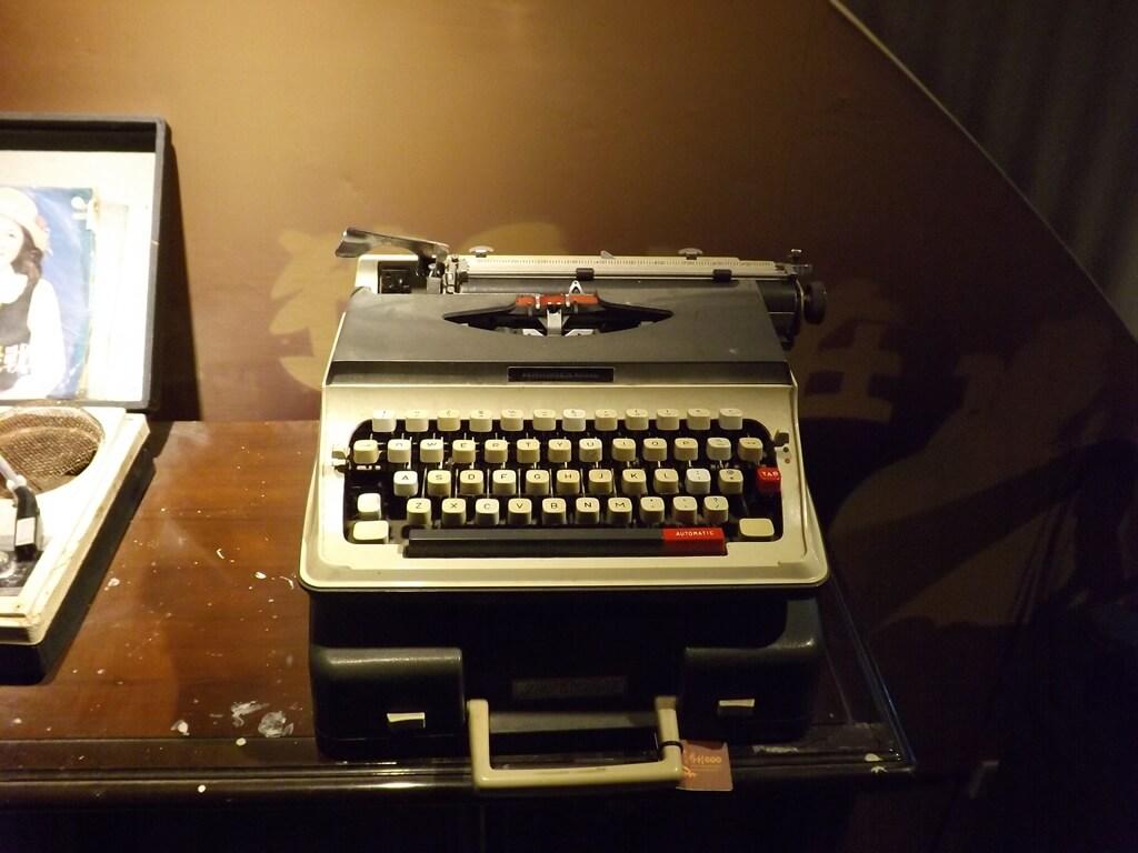 新竹市眷村博物館的圖片:舊時代的打字機