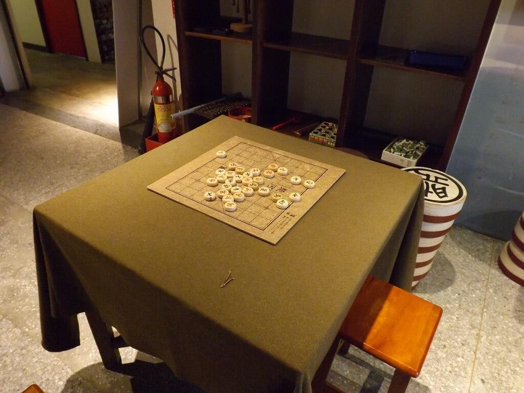 新竹市眷村博物館的圖片:象棋擺設