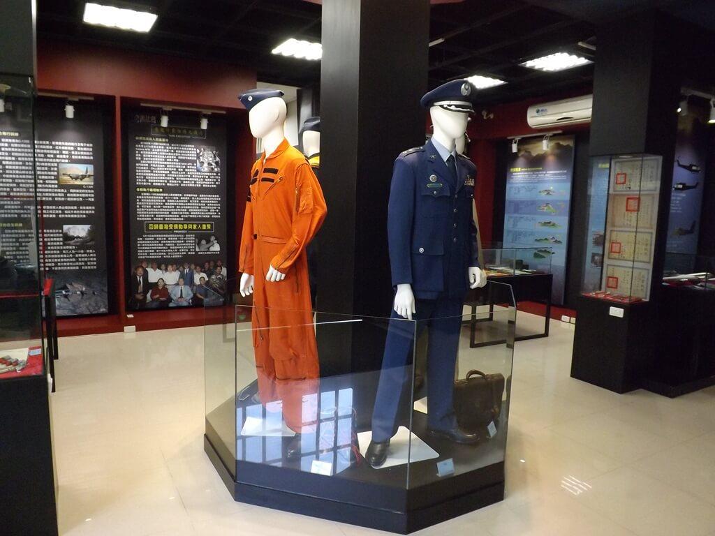 黑蝙蝠中隊文物陳列館的圖片:軍服展示