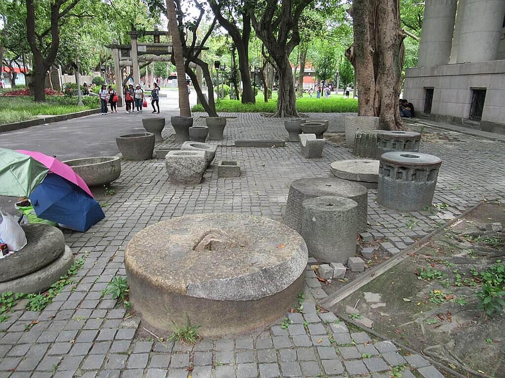 二二八和平紀念公園的圖片:台灣民間石器