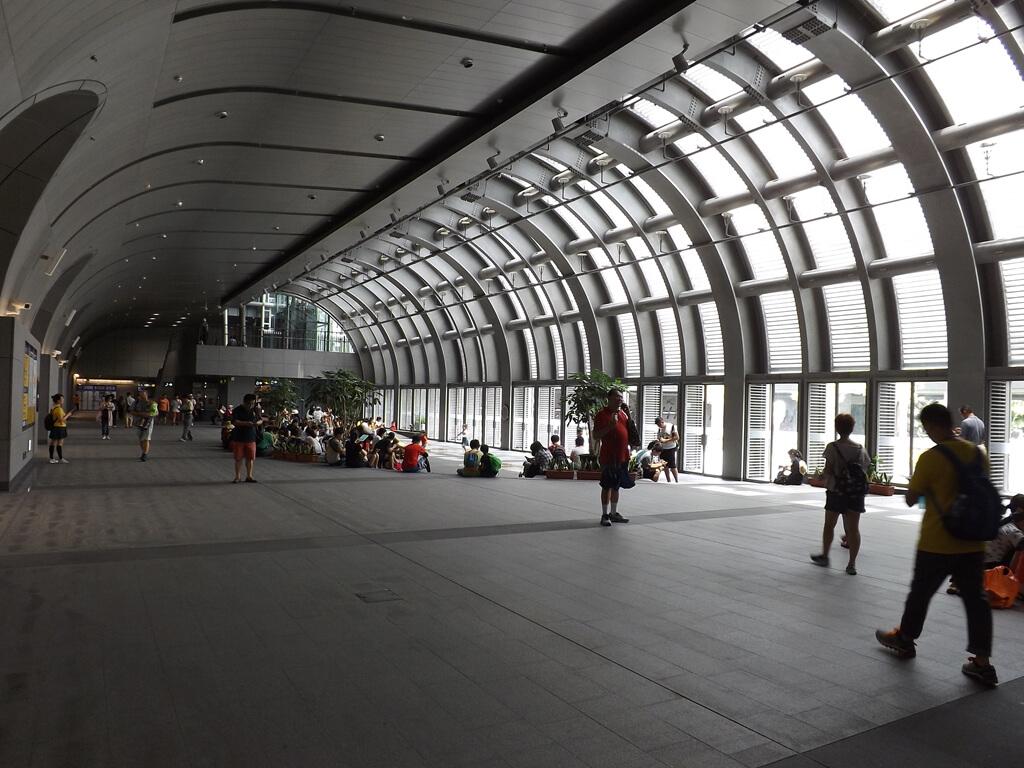 大安森林公園的圖片:捷運大安森林站的室內空間