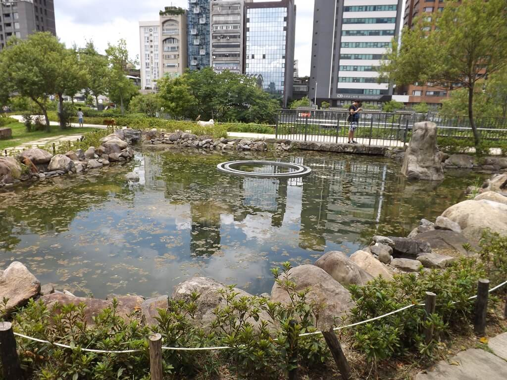 大安森林公園的圖片:生態水池
