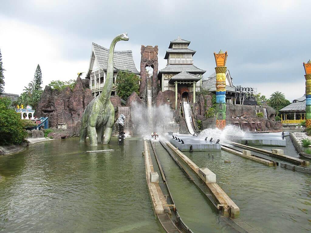 六福村主題遊樂園的圖片:火山歷險