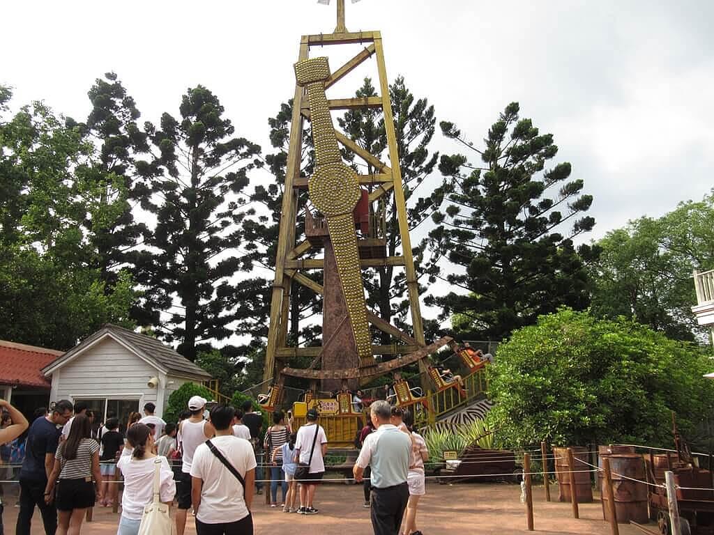 六福村主題遊樂園的圖片:3G老油井