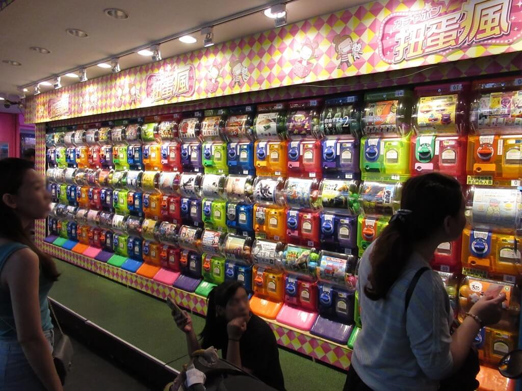 公館夜市(臺北市)的圖片:扭蛋瘋商店