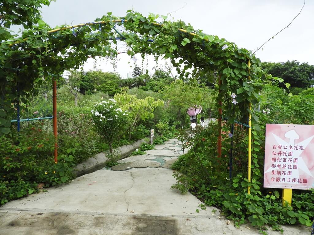 台灣地景花園 Taiwan Land Art Garden的圖片:白雪公主花徑入口