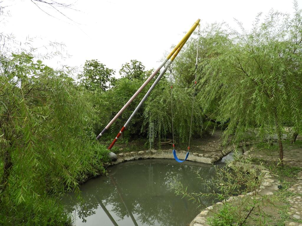 台灣地景花園 Taiwan Land Art Garden的圖片:釣魚鞦韆