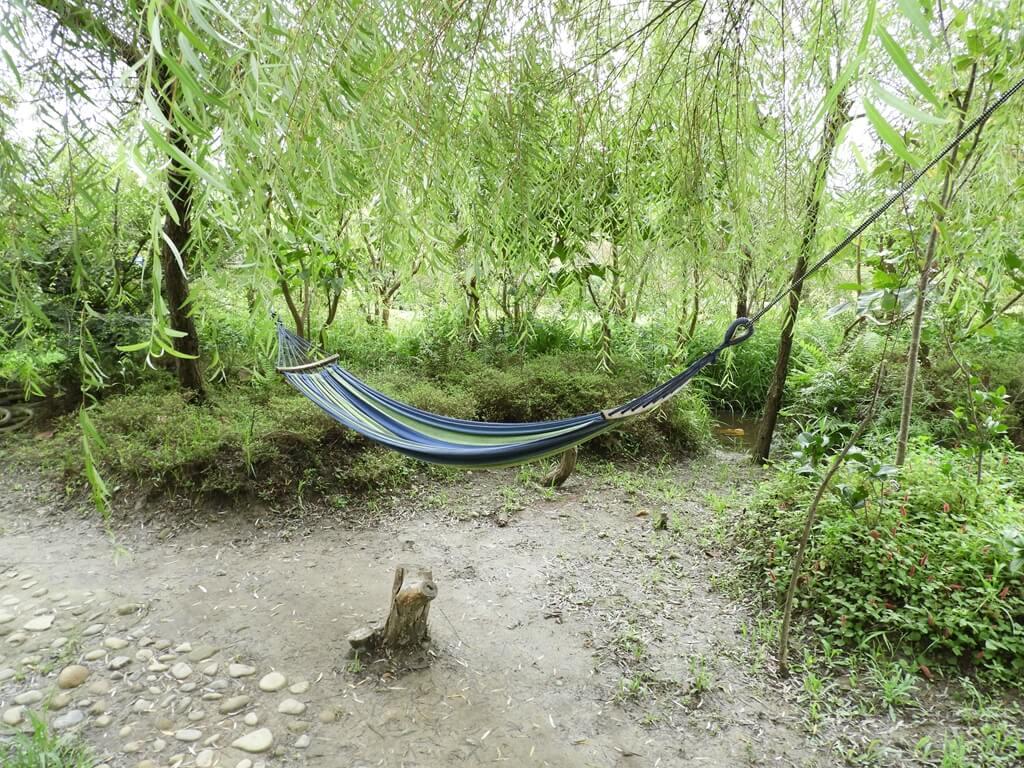台灣地景花園 Taiwan Land Art Garden的圖片:樹間的吊床