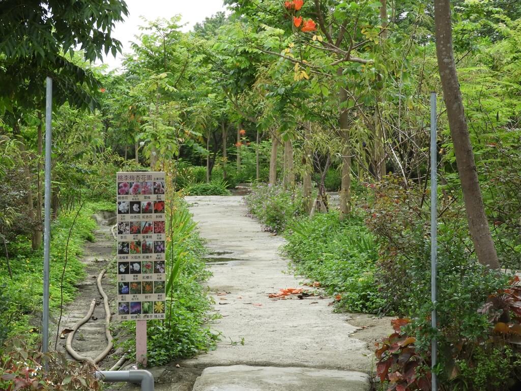 台灣地景花園 Taiwan Land Art Garden的圖片:桃李梅杏花園
