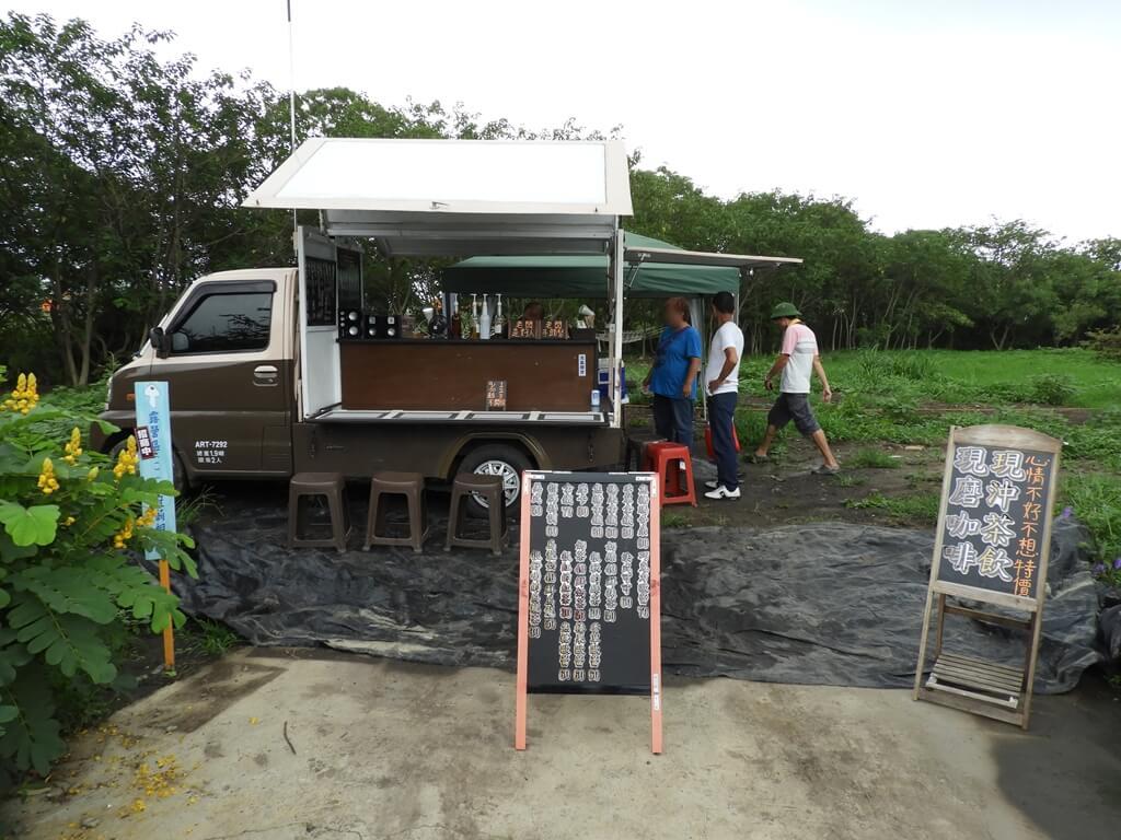 台灣地景花園 Taiwan Land Art Garden的圖片:行動咖啡車,有現沖茶飲及現磨咖啡