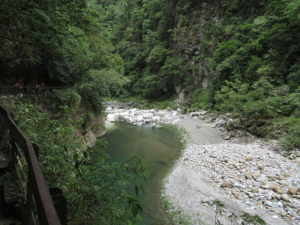 砂卡礑步道(太魯閣國家公園景觀步道)的圖片:砂卡礑溪谷圖(編號 123655076)