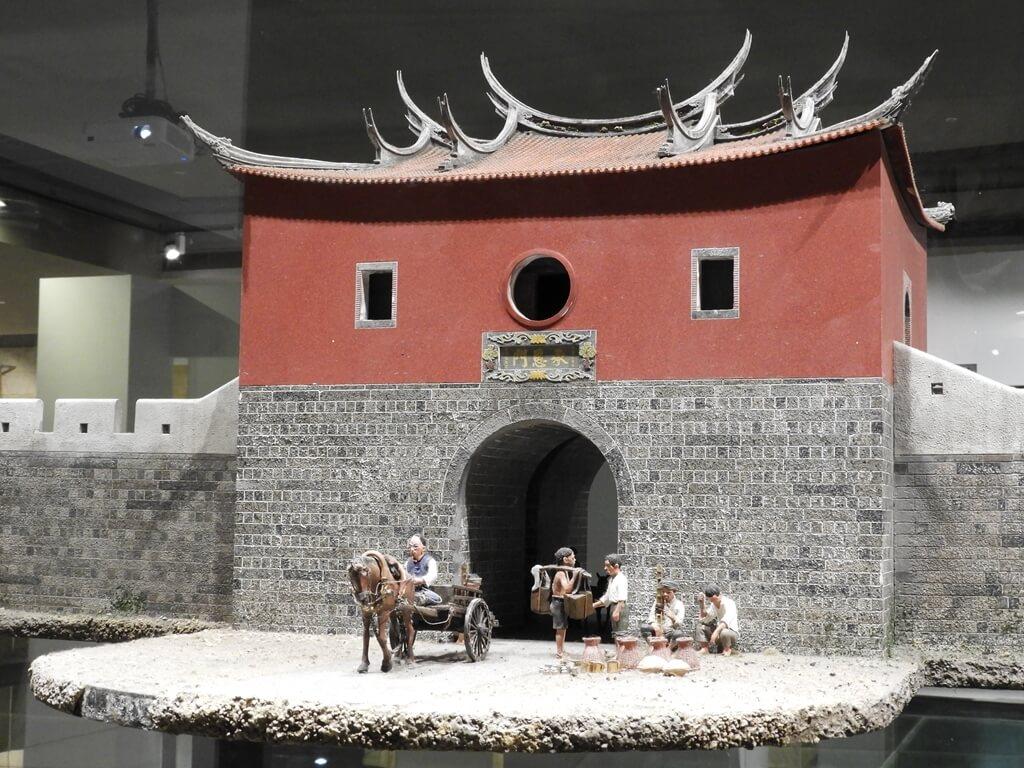台北探索館的圖片:承恩門(臺北府城北門)模型