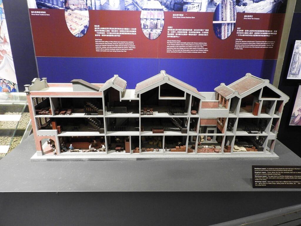 台北探索館的圖片:迪化街中藥行模型