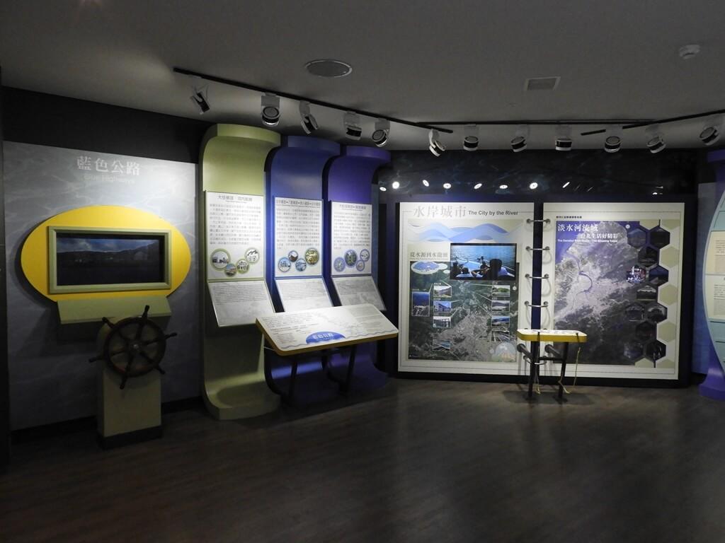 台北探索館的圖片:臺北市的藍色公路、水岸城市