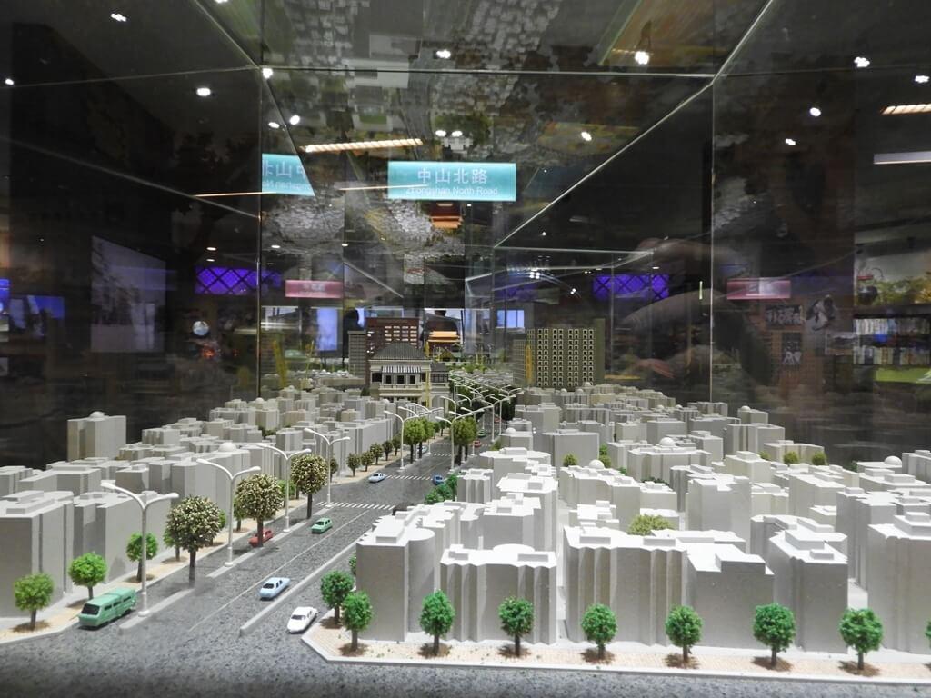 台北探索館的圖片:臺北市的城市街道模型
