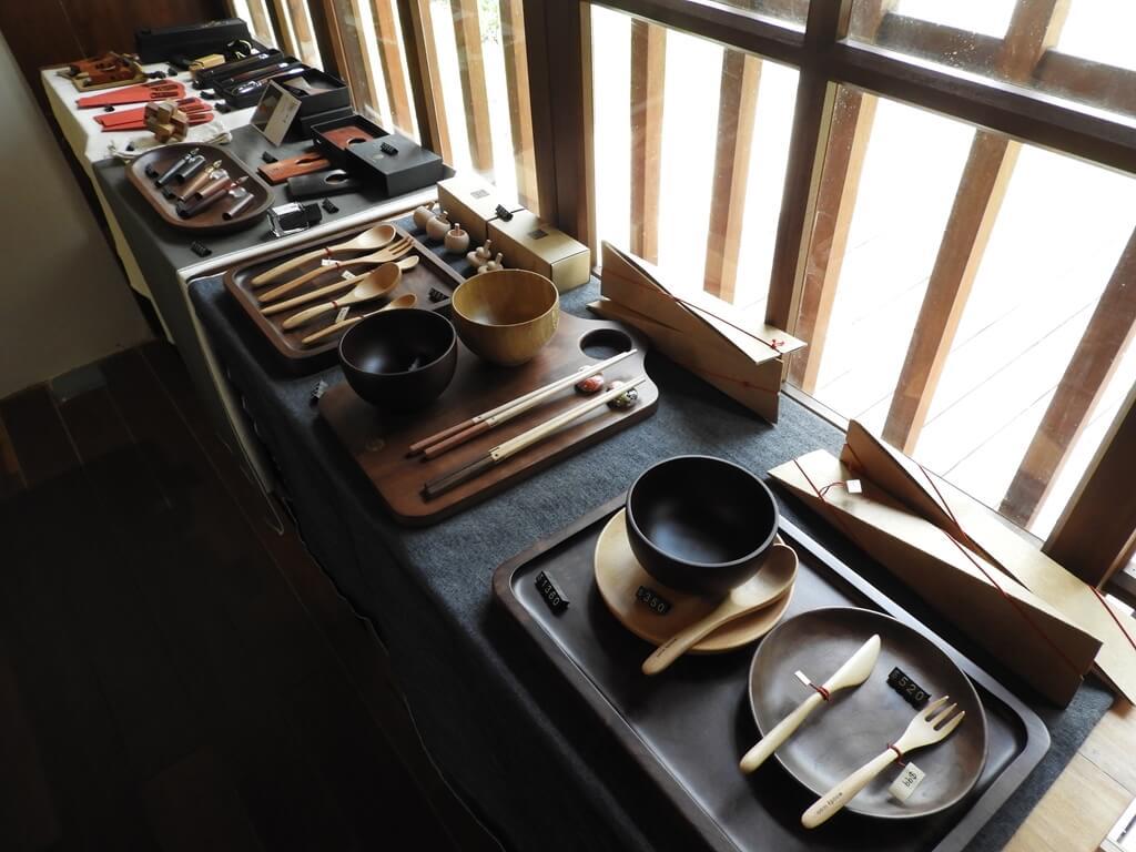 桃園77藝文町的圖片:木製餐具組