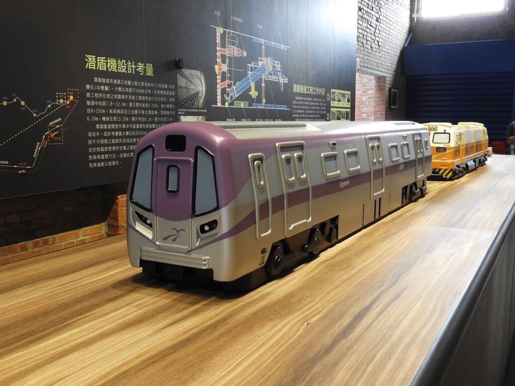 桃園軌道願景館的圖片:桃園捷運車廂模型