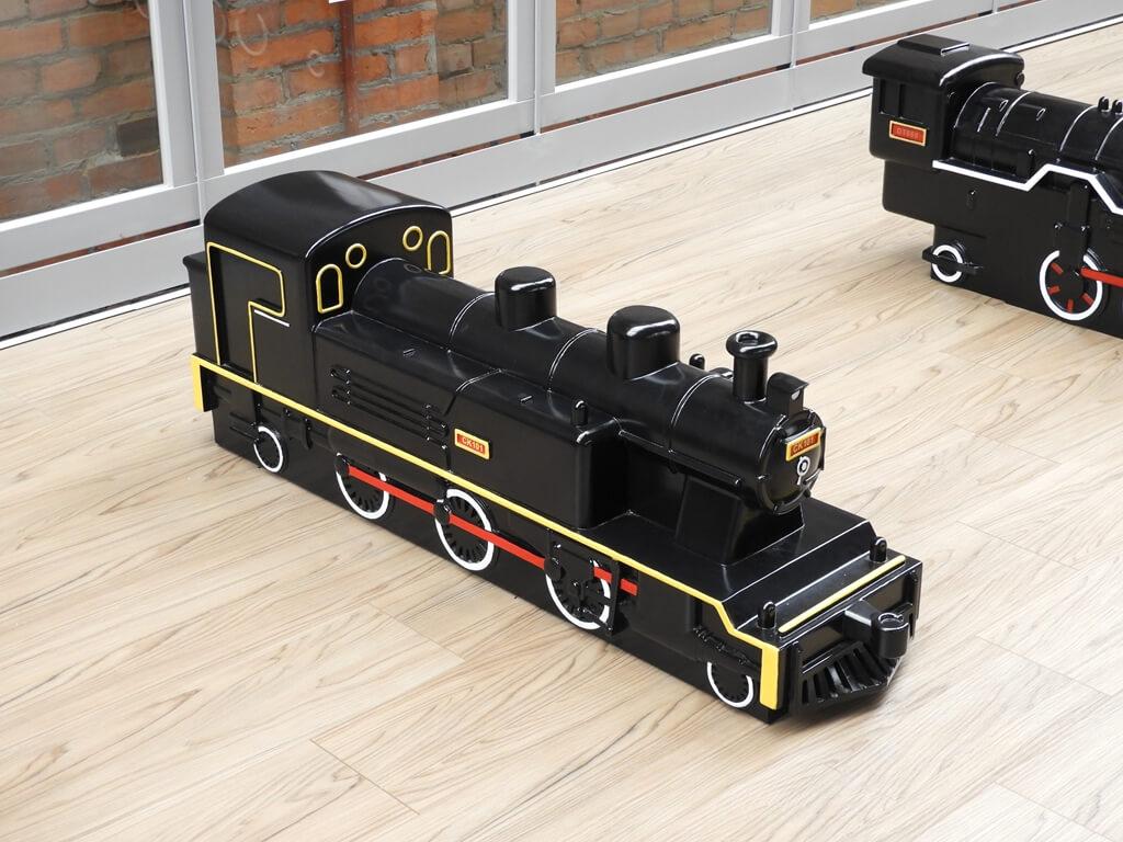 桃園軌道願景館的圖片:木製 CK101 蒸汽火車頭