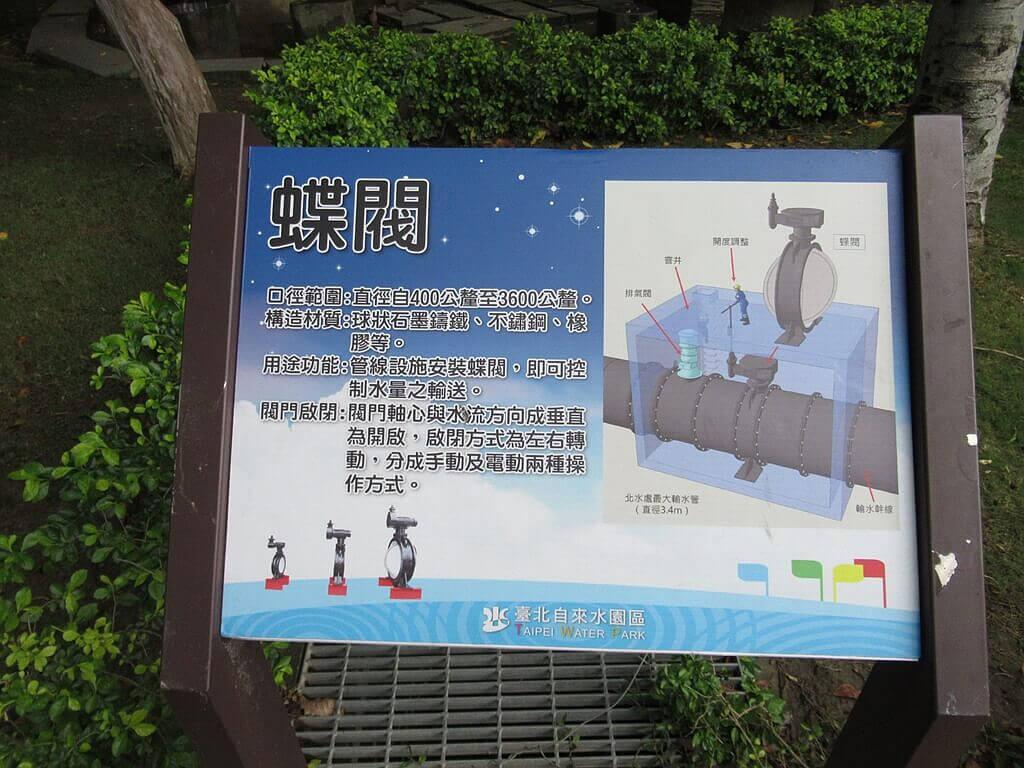 臺北自來水園區(自來水博物館)的圖片:蝶閥介紹