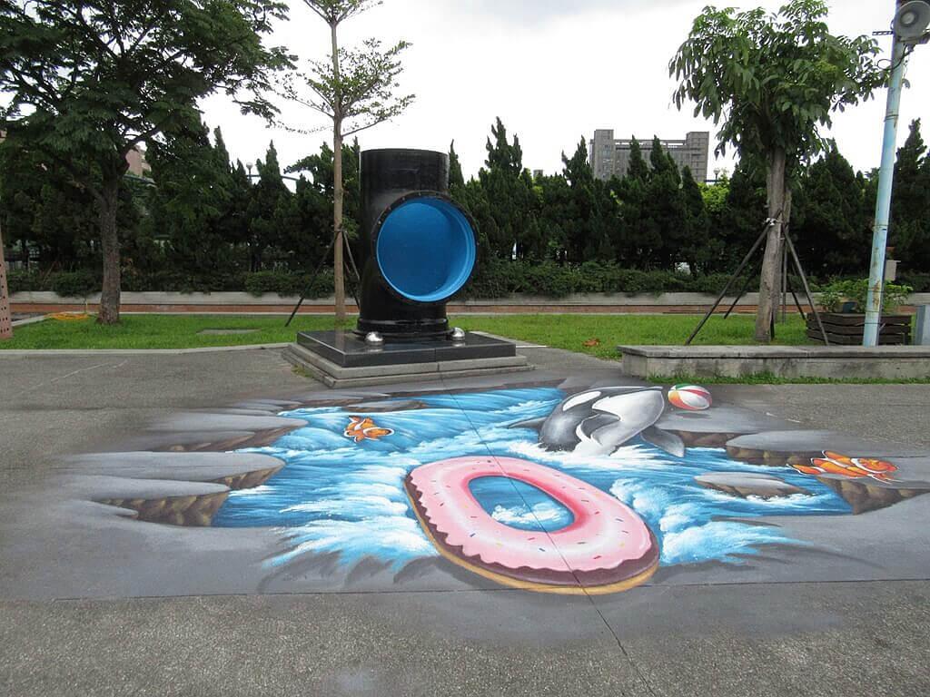 臺北自來水園區(自來水博物館)的圖片:3D 圖拍攝區