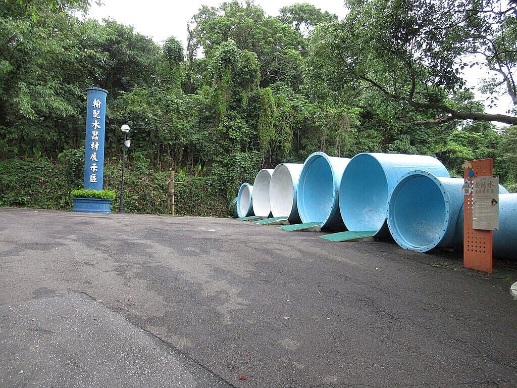 臺北自來水園區(自來水博物館)的圖片:輸配水器材展示區入口