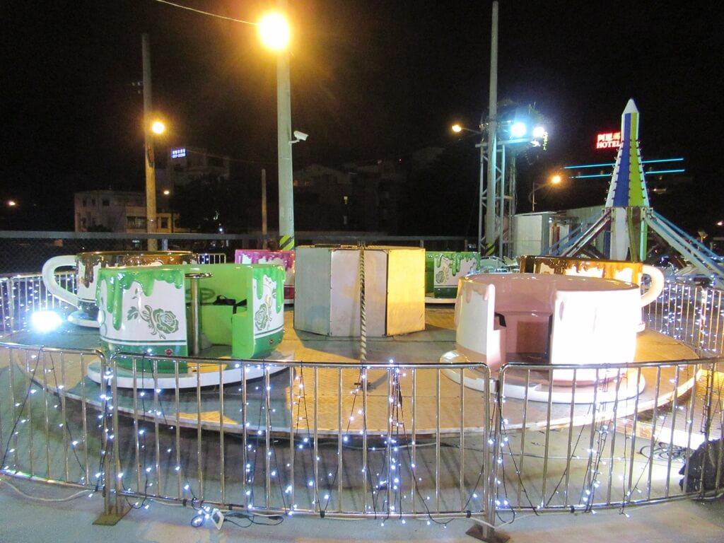 花蓮東大門夜市的圖片:旋轉咖啡杯