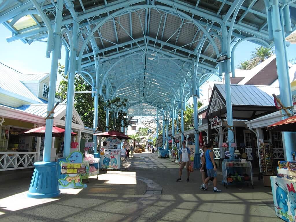 花蓮遠雄海洋公園的圖片:海洋村中央走道